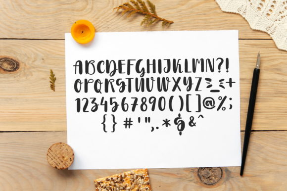 Print on Demand: Morning Script & Handwritten Font By struvictory - Image 3