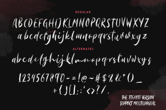 Print on Demand: Morriles Color Fonts Font By saridezra - Image 9