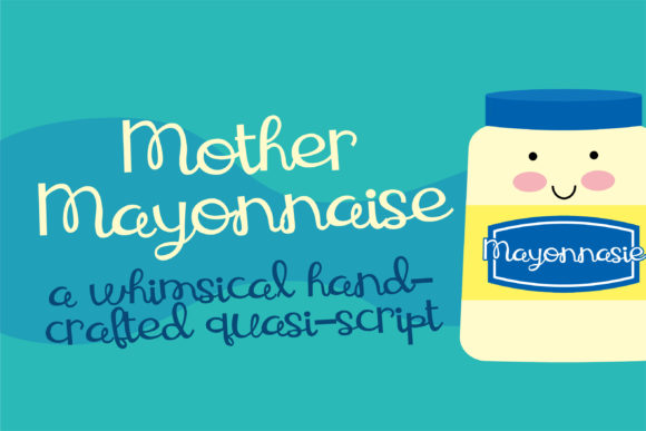 Print on Demand: Mother Mayonnaise Script & Handwritten Font By Illustration Ink - Image 1