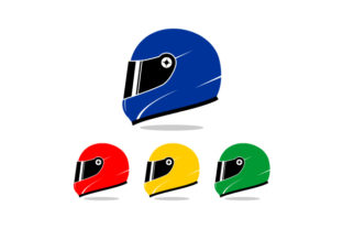 Download Free Motorcycle Helmet Vector Illustration Graphic By Hartgraphic for Cricut Explore, Silhouette and other cutting machines.
