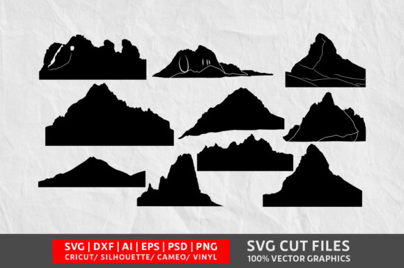 Download Free Mountain Graphic By Design Palace Creative Fabrica for Cricut Explore, Silhouette and other cutting machines.