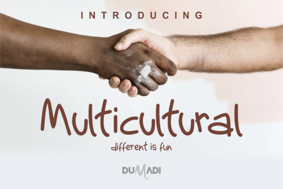 Print on Demand: Multicultural Display Font By DUMADI