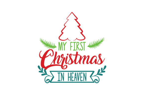 Download Free My First Christmas In Heaven Svg Cut Graphic By Thelucky for Cricut Explore, Silhouette and other cutting machines.
