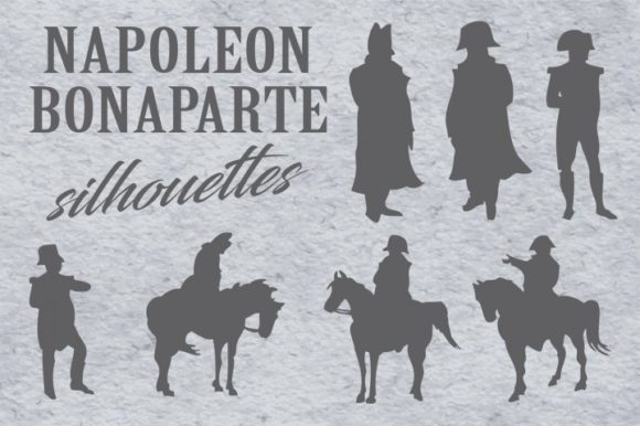 Print on Demand: Napoleon Bonaparte Silhouettes Graphic Illustrations By bywahtung