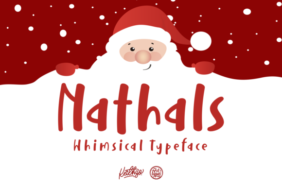 Print on Demand: Nathals Script & Handwritten Font By Keithzo (7NTypes)