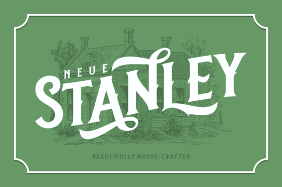 Print on Demand: Neue Stanley Serif Font By Fontdation