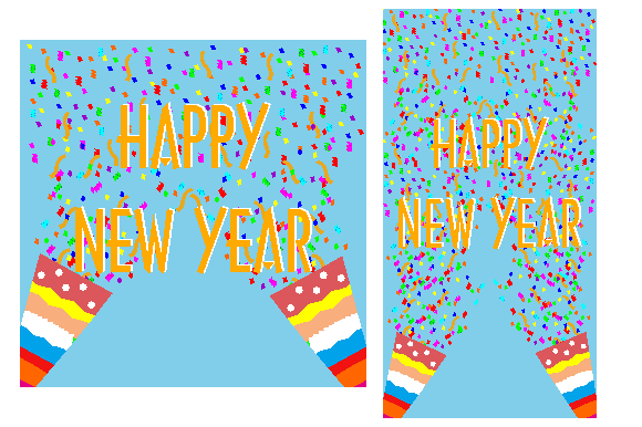 New Year Template Graphic Graphic Templates By dstudio