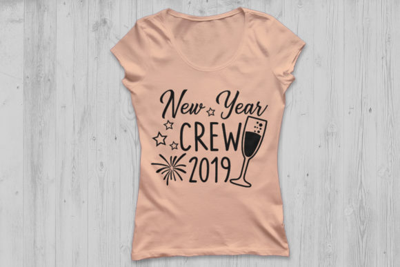 Download Free New Year Crew Svg Graphic By Cosmosfineart Creative Fabrica for Cricut Explore, Silhouette and other cutting machines.