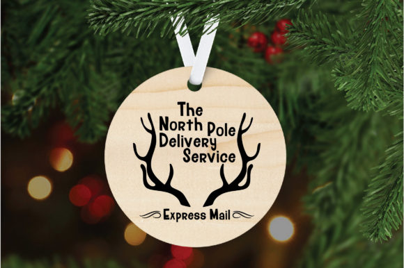 Download Free North Pole Delivery Service Svg Graphic By Oldmarketdesigns for Cricut Explore, Silhouette and other cutting machines.