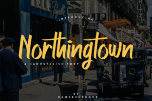 Northingtown Font By Ardian Nuvianto