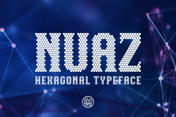 Print on Demand: Nuaz Display Font By Situjuh
