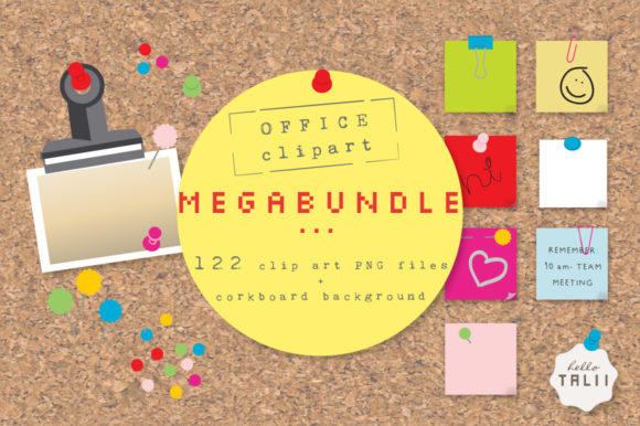 Office Clip Art Megabundle Graphic Product Mockups By Hello Talii