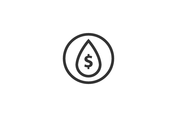 Download Free Oil Dollar Graphic By Rudezstudio Creative Fabrica for Cricut Explore, Silhouette and other cutting machines.