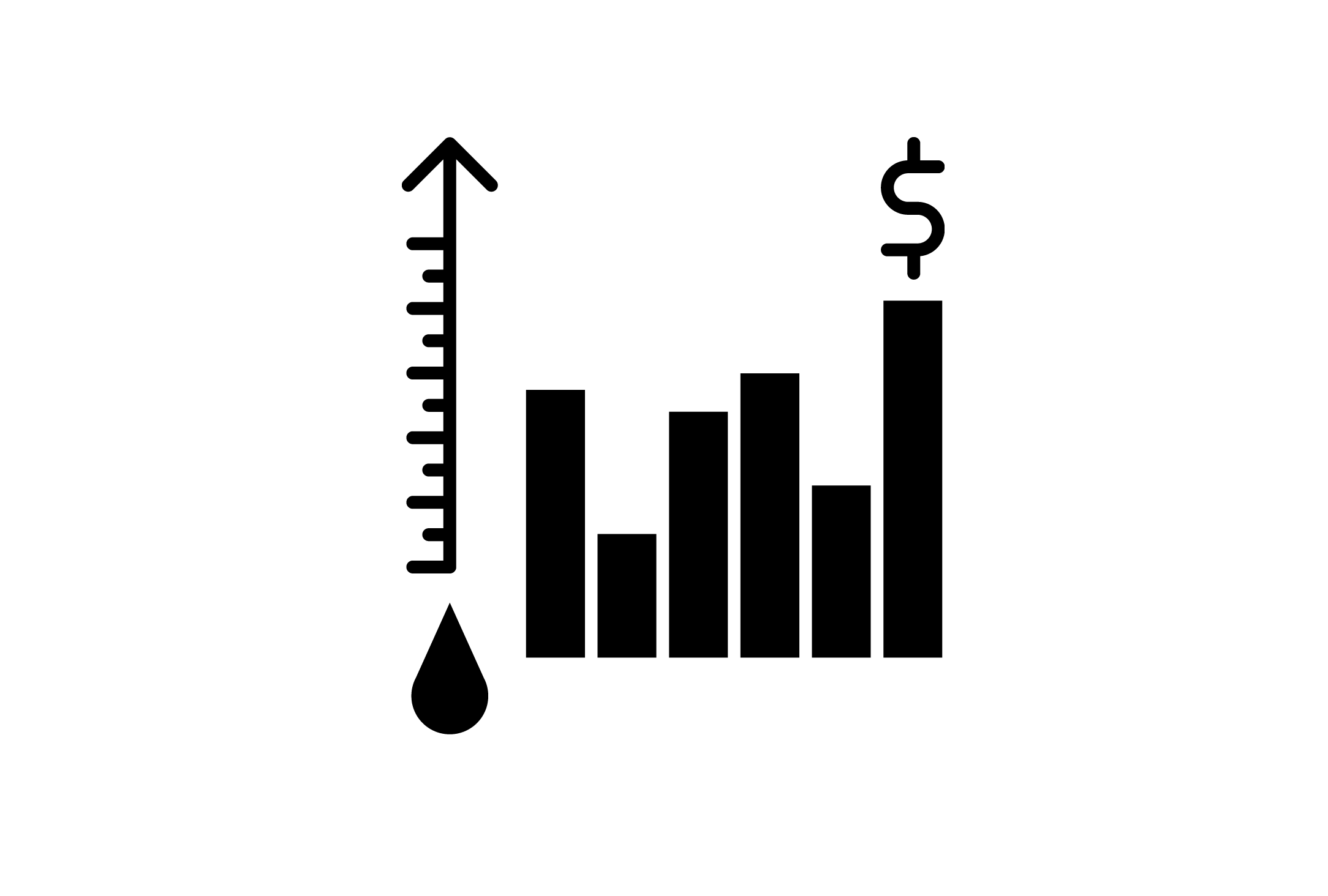 Download Free Oil Price Icon Graphic By Back1design1 Creative Fabrica for Cricut Explore, Silhouette and other cutting machines.
