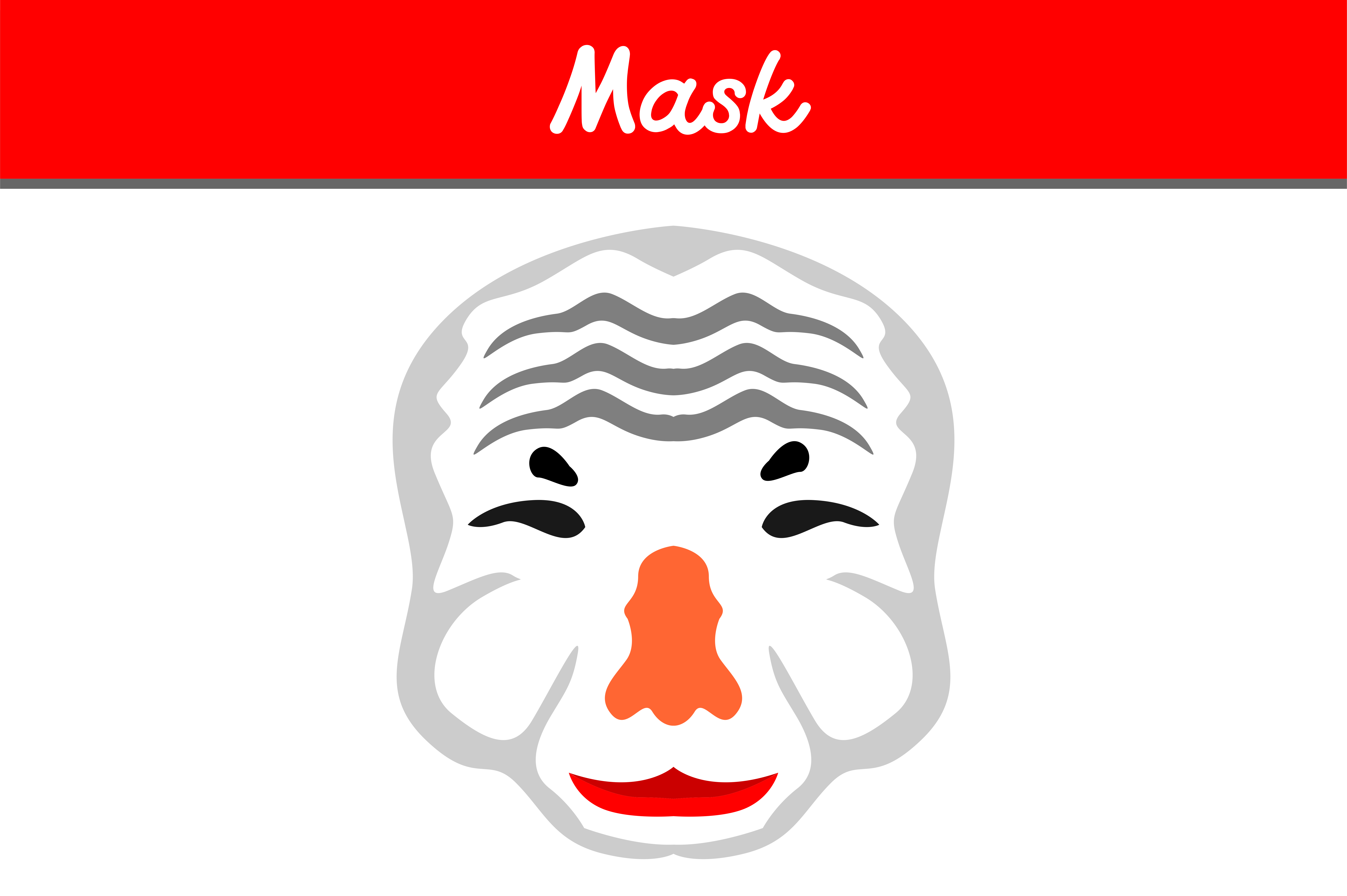 Download Free Old Mask Graphic By Arief Sapta Adjie Creative Fabrica for Cricut Explore, Silhouette and other cutting machines.