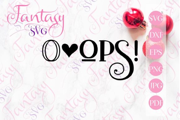 Print on Demand: Oops Graphic Crafts By Fantasy SVG