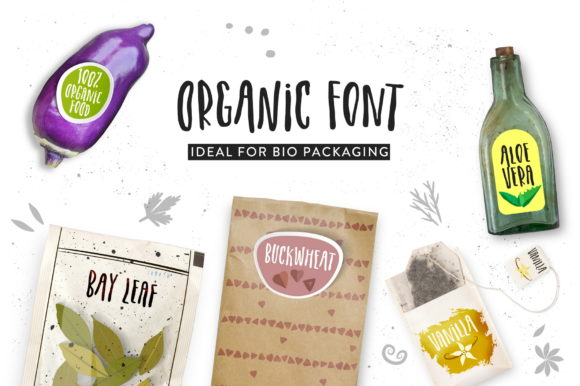 Print on Demand: Organic Script & Handwritten Font By struvictory - Image 3
