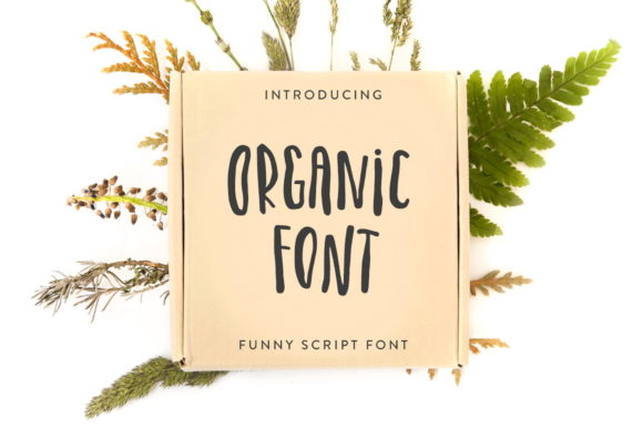 Print on Demand: Organic Script & Handwritten Font By struvictory - Image 1