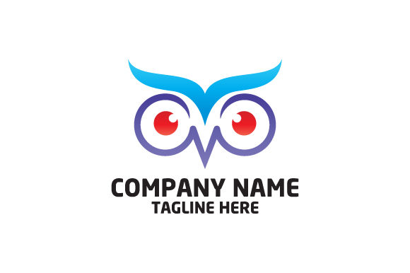 Download Free Owl Head Vector Logo Graphic By Hartgraphic Creative Fabrica for Cricut Explore, Silhouette and other cutting machines.