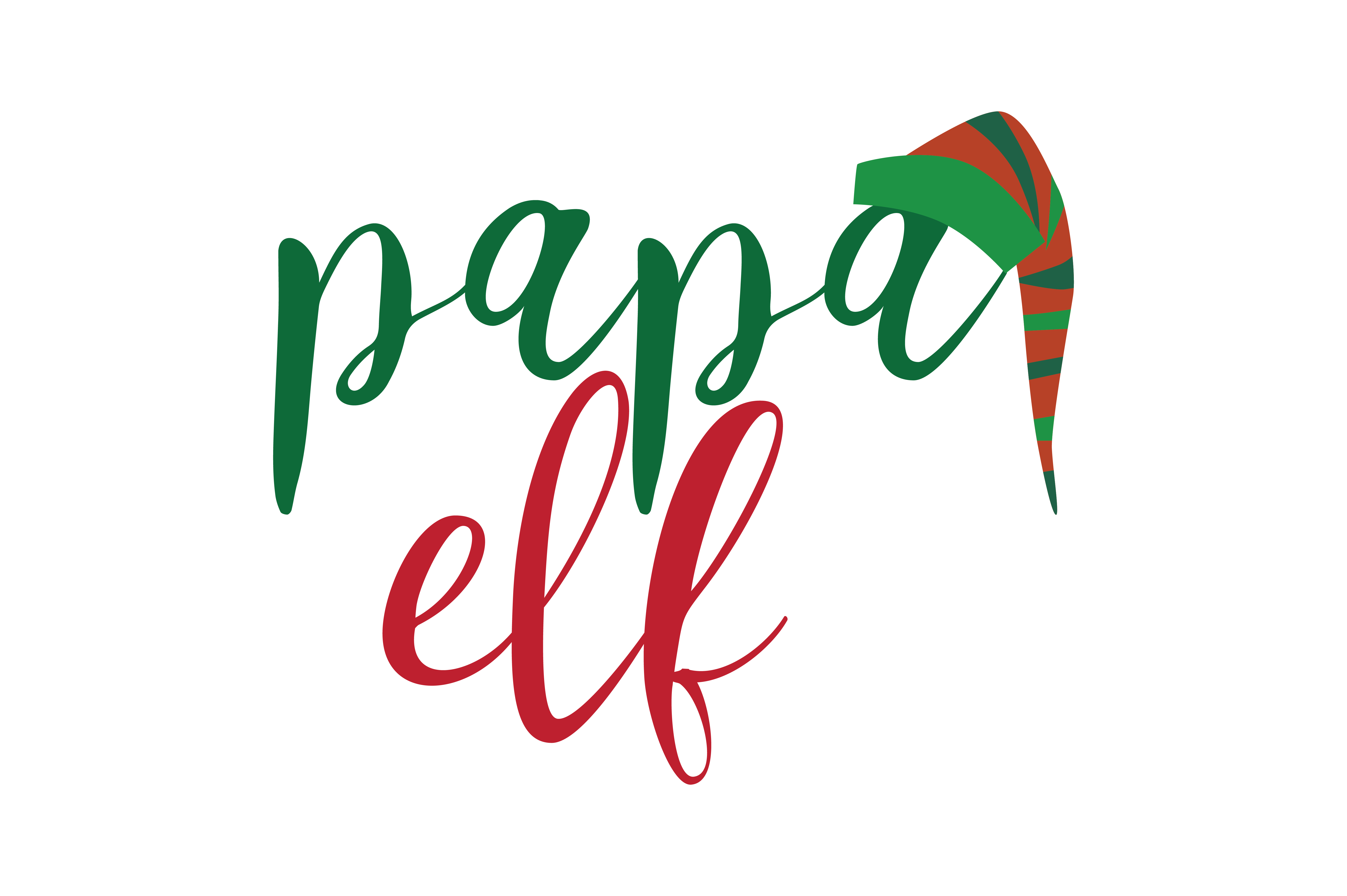 Download Free Papa Ell Svg Cut Graphic By Thelucky Creative Fabrica for Cricut Explore, Silhouette and other cutting machines.