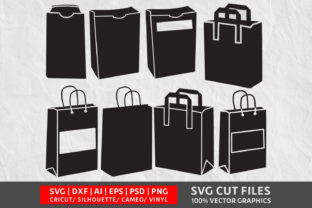 Paper Bag SVG Graphic By Design Palace