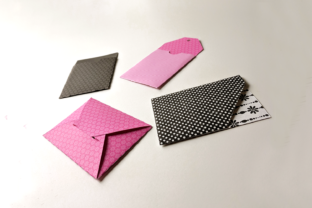 Paper Gift Card Holder Set Graphic By RisaRocksIt