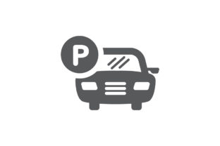 Download Free Park Sign Icon Parking Car Parking Icon Graphic By Kanggraphic Creative Fabrica for Cricut Explore, Silhouette and other cutting machines.