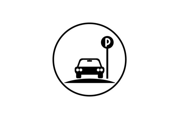 Download Free Parking Icon Vector Graphic By Hoeda80 Creative Fabrica for Cricut Explore, Silhouette and other cutting machines.