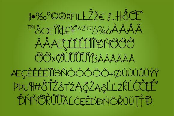 Parsnipity Font By Illustration Ink Image 2