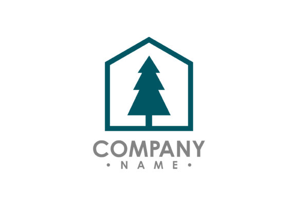 Download Free Pine Tree Outdoor Travel Green Silhouette Forest Logo Graphic By for Cricut Explore, Silhouette and other cutting machines.