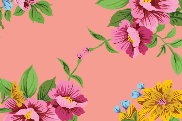 Print on Demand: Pink Seamless Floral Pattern Graphic Patterns By iop_micro