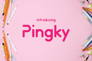 Pinky Font By da_only_aan