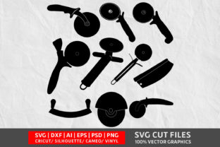 Pizza Cutter SVG Graphic By Design Palace