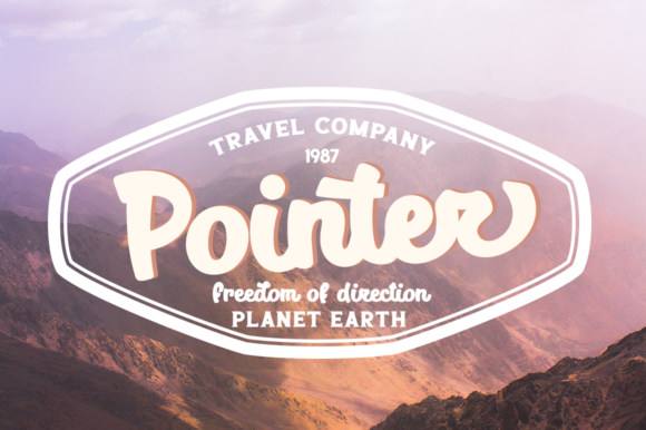 Print on Demand: Planet Earth Script & Handwritten Font By Pasha Larin - Image 7