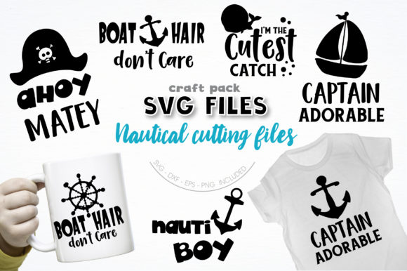 Pretty Cuttables Nautical Cut Files Graphic Crafts By PrettyCuttables