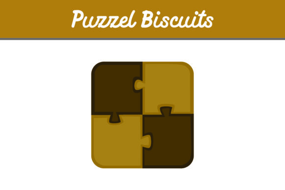 Print on Demand: Puzzle Biscuit Graphic Icons By Arief Sapta Adjie