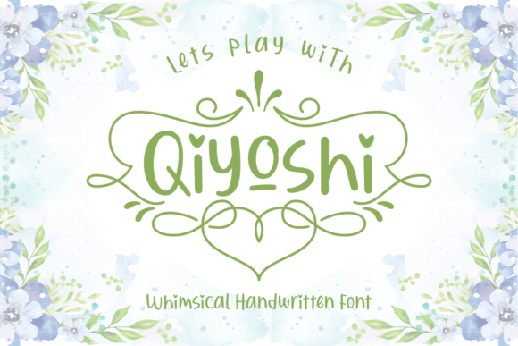 Print on Demand: Qiyoshi Script & Handwritten Font By Adyfo (7NTypes)