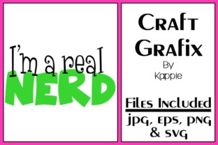 Real Nerd Graphic By Grafix by Kappie