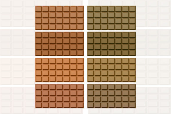 Realistic Block Chocolate Graphic By MrBrahmana