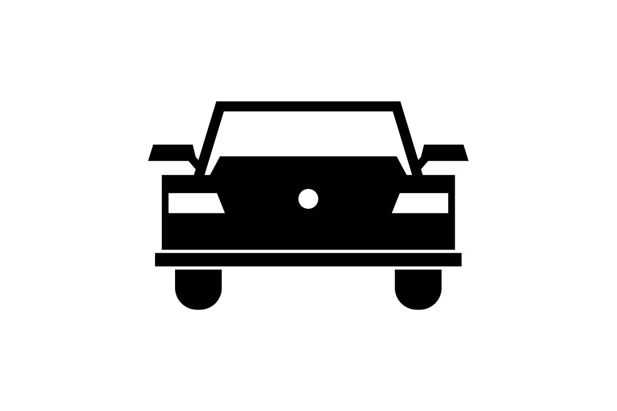 Download Free Retro Car Icon Vector Graphic By Hoeda80 Creative Fabrica for Cricut Explore, Silhouette and other cutting machines.