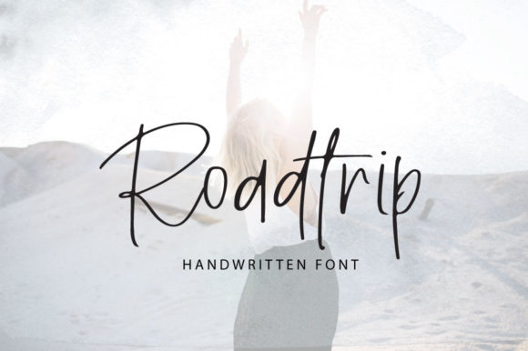 Print on Demand: Roadtrip Script & Handwritten Font By PaulaType