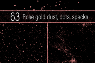 Rose Gold Dust Graphic By JulieCampbellDesigns