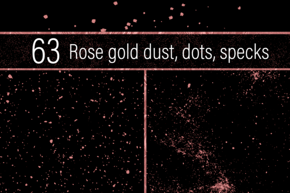 Print on Demand: Rose Gold Dust Graphic Textures By JulieCampbellDesigns