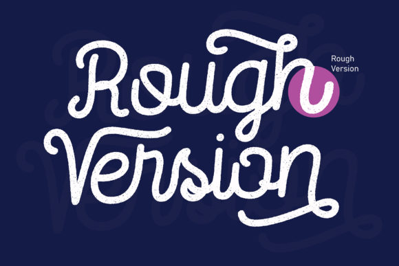 Print on Demand: Routerline Rough Family Display Font By Viaction Type.Co