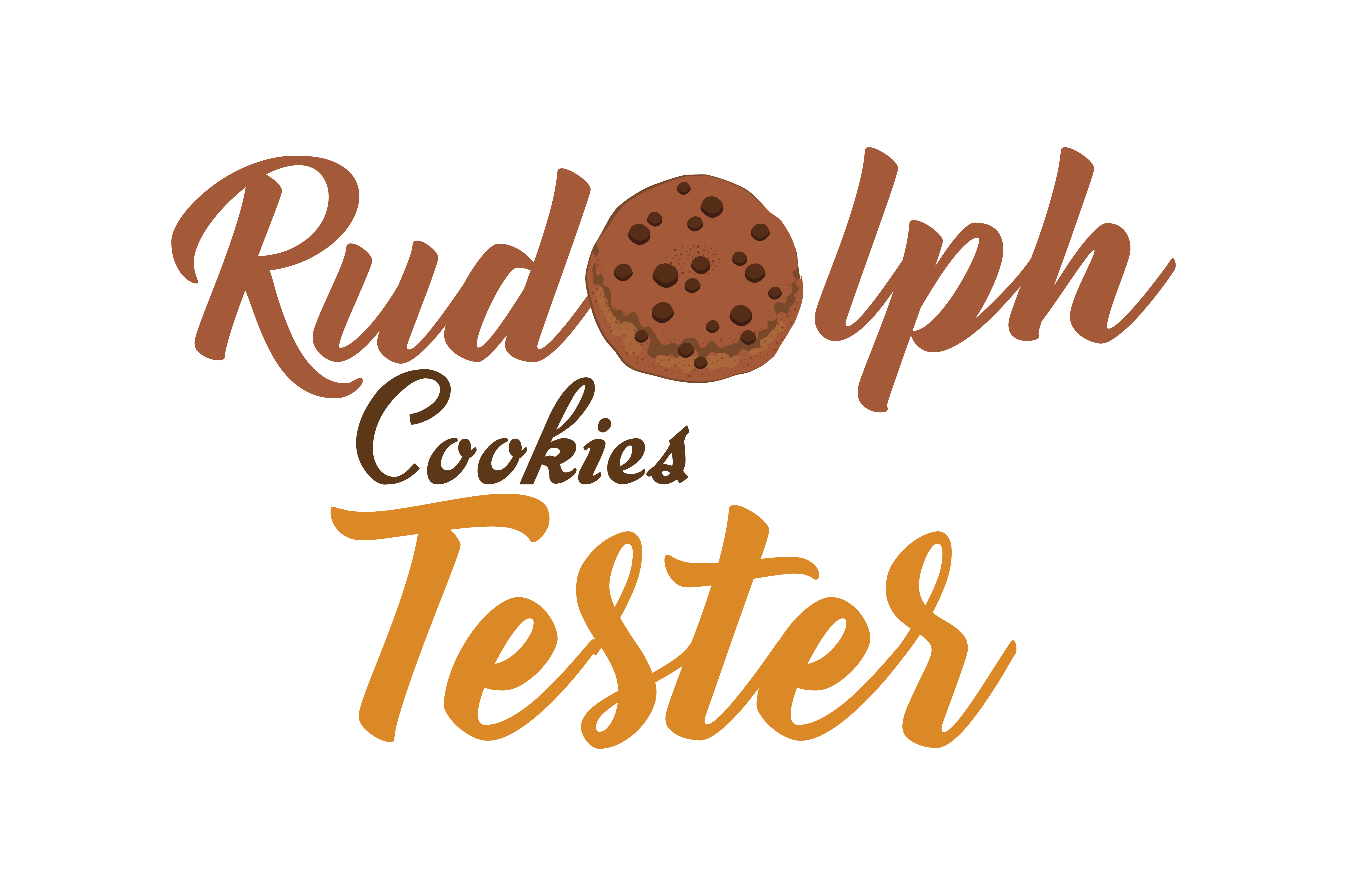 Download Free Rudolph Cookies Tester Svg Cut Graphic By Thelucky Creative for Cricut Explore, Silhouette and other cutting machines.