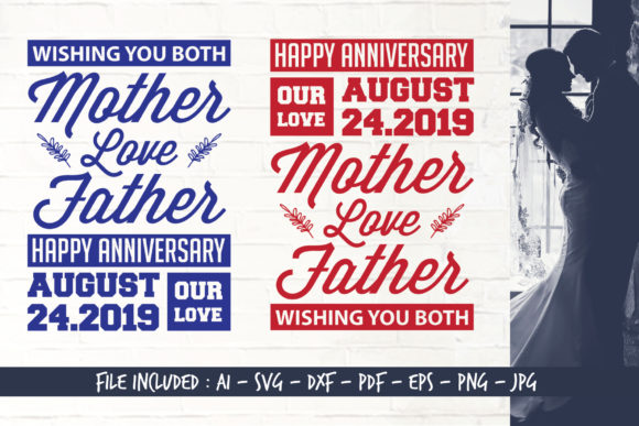 Happy Anniversary Graphic Crafts By Home Crafter Design.co