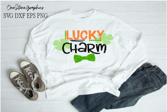Download Free Saint Patrick S Svg Lucky Charm Svg Graphic By Onestonegraphics Creative Fabrica for Cricut Explore, Silhouette and other cutting machines.