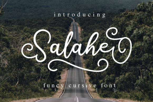 Print on Demand: Salahe Script & Handwritten Font By alphArt