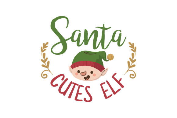 Download Free Santa Cutes Elf Svg Cut Graphic By Thelucky Creative Fabrica for Cricut Explore, Silhouette and other cutting machines.