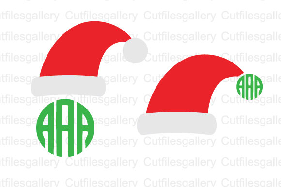 Download Free Santa Hat Christmas Svg Graphic By Cutfilesgallery Creative for Cricut Explore, Silhouette and other cutting machines.
